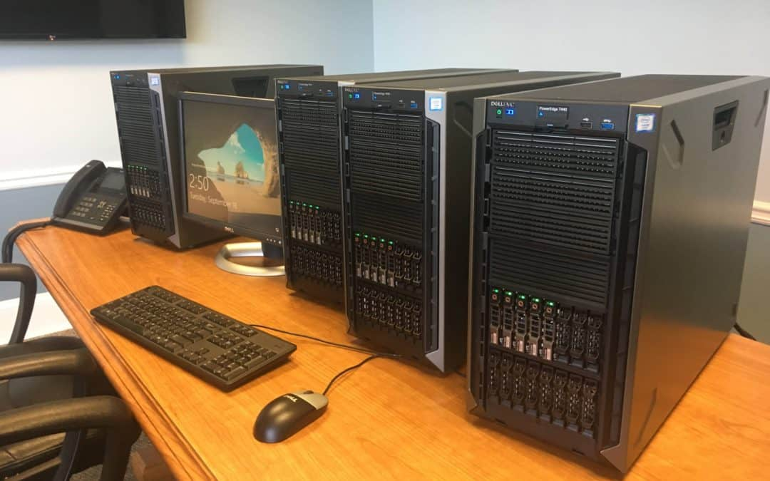 how to set up a small business network with a server